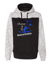 Load image into Gallery viewer, Shine Bright Color Blocked Hooded Sweatshirt