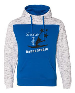 Shine Bright Color Blocked Hooded Sweatshirt