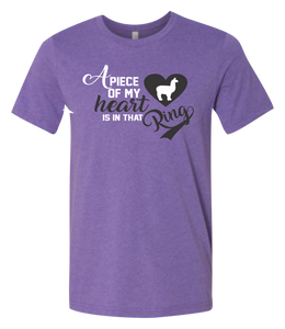 A Piece of My Heart is in That Ring Short-Sleeve Graphic T-shirt