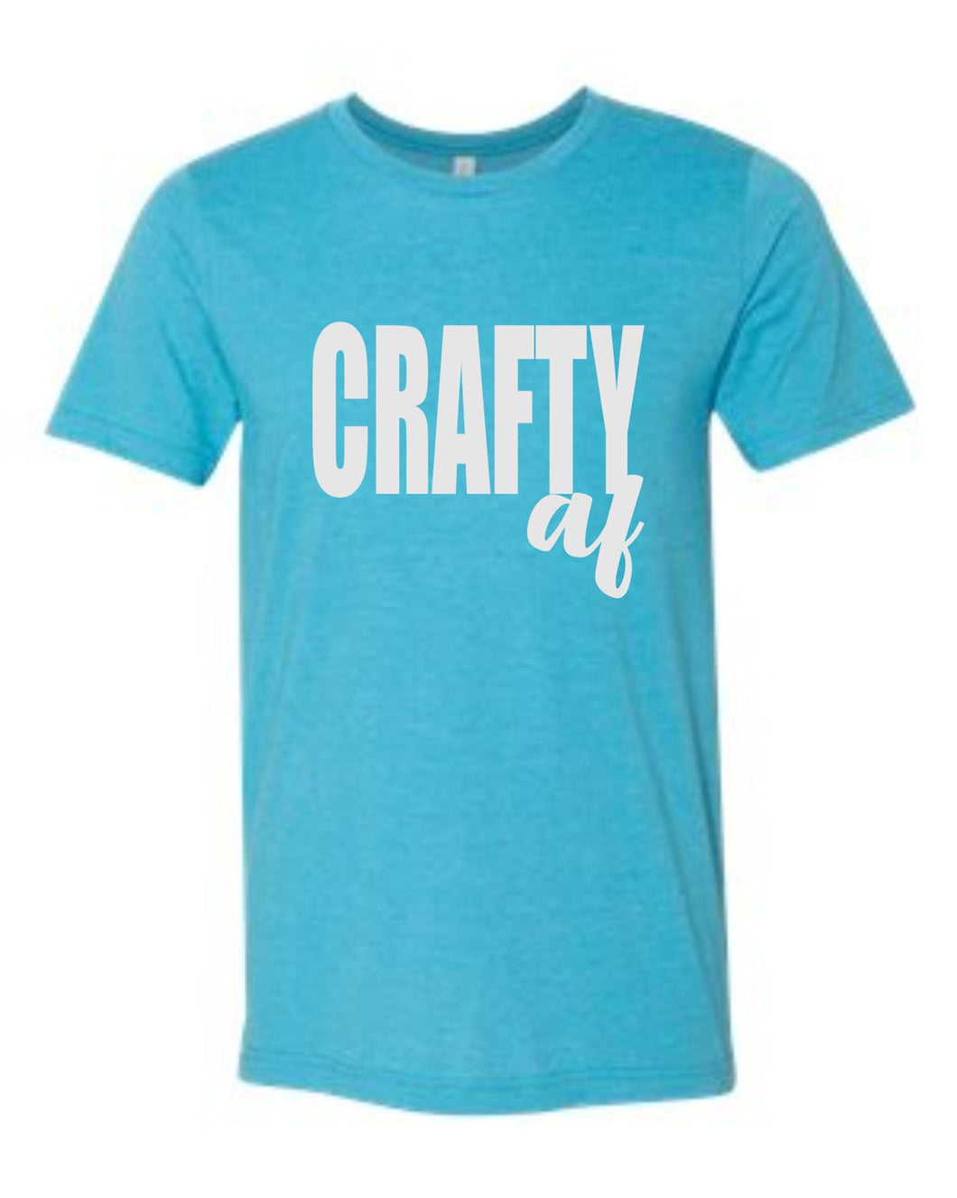 Crafty AF Short Sleeve Graphic T-shirt