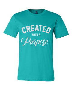 Created with a Purpose Short Sleeve Graphic T-shirt