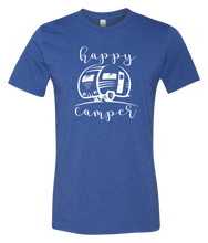 Load image into Gallery viewer, Happy Camper Short Sleeve Graphic T-shirt