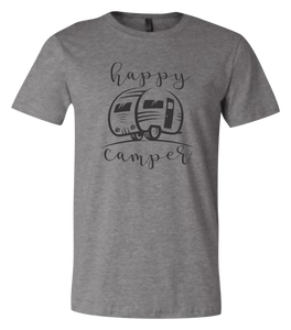 Happy Camper Short Sleeve Graphic T-shirt