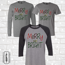 Load image into Gallery viewer, Merry and Bright Foil Shirt