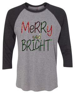 Merry and Bright Foil Shirt