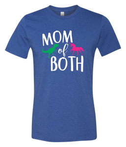 Mom of Both Short Sleeve Graphic T-shirt