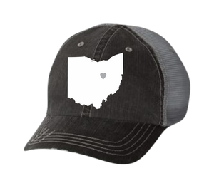 State with Hometown Heart Hat