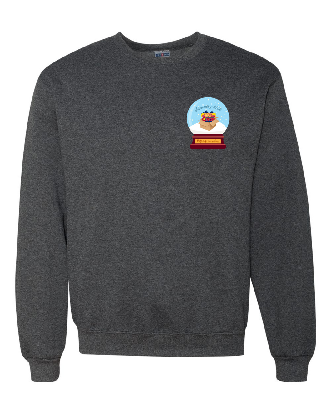 Rocky Mountain Crop 2021 Crewneck Sweatshirt