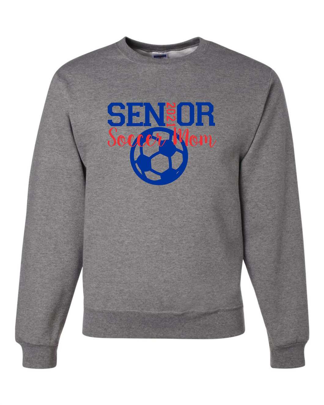 WH Senior Soccer Mom Crewneck Sweatshirt