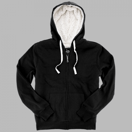 Sherpa Full Zip Hooded Sweatshirt
