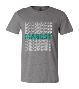 Mascot Outline Short Sleeve Graphic T-Shirt
