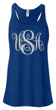 Load image into Gallery viewer, USA Monogram Women's Flowy Tank Top