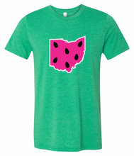 Load image into Gallery viewer, Watermelon State Short-Sleeve Graphic T-shirt
