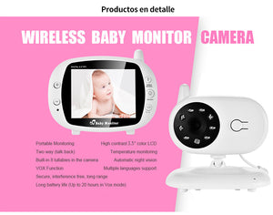 Multi Features Baby Monitor 3.5''