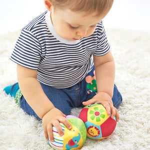 Ball Soft Plush Mobile Toys With Sound