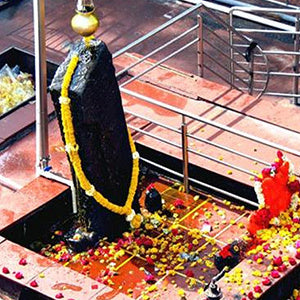 Offer Tel Abhishekam at Shani Shingnapur