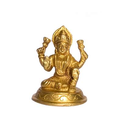 Laxmi Ji Big Brass Idol
