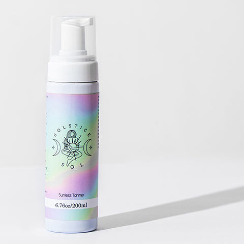 The Solstice Sol Sunless Tanner.