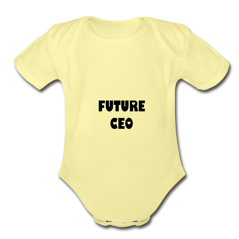 FUTURE CEO - washed yellow