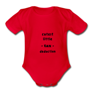 CUTEST LITTLE TAX DEDUCTION - red