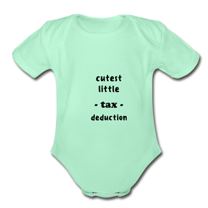 CUTEST LITTLE TAX DEDUCTION - light mint