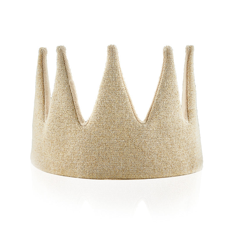 Gold Sparkle Crown
