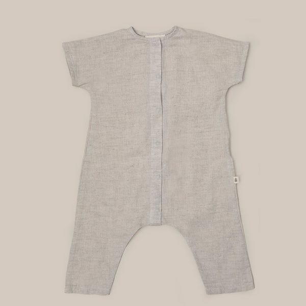 White Natural White One Piece Baby boys baby girls Playsuit
