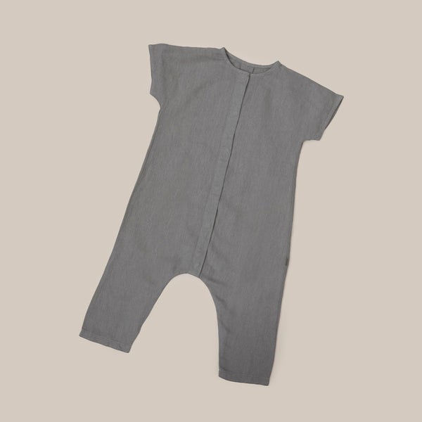 Olive Green Khaki One Piece Baby boys baby girls Playsuit