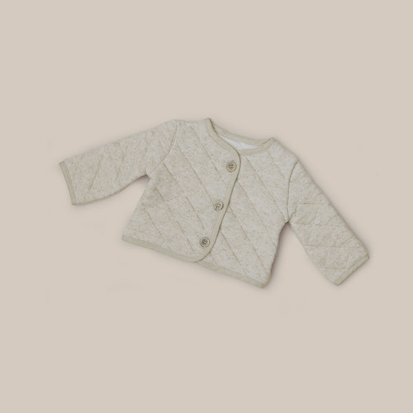 Baby Linen Quilted natural organic Jacket
