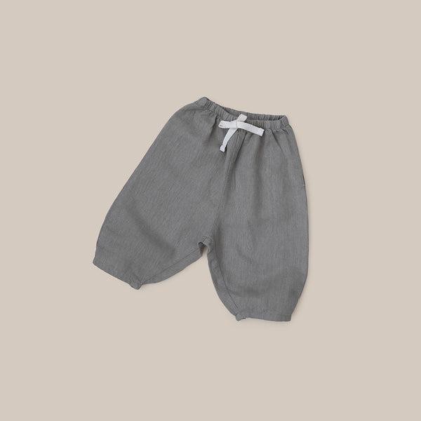 Olive Green Khaki linen baby boy baby girl pants