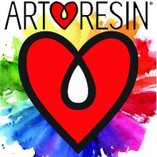 Art resin epoxy art craft logo