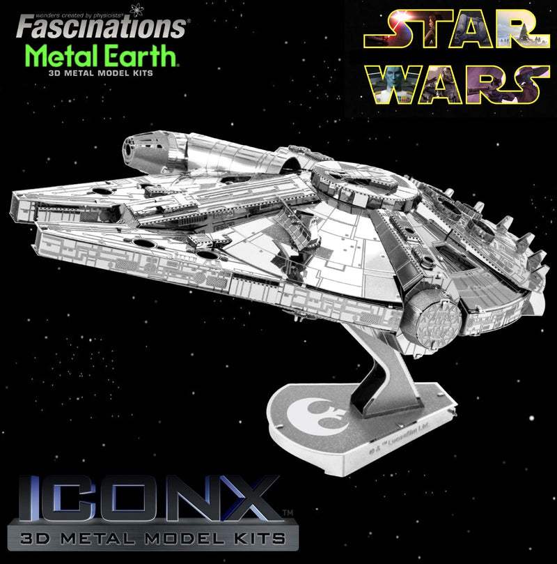 Metal Earth Iconx - Star Wars Millennium Falcon