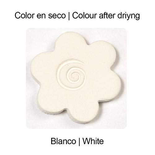 Plus Sio-2 Color Plus Air Drying Modelling Clay - White 5Kg