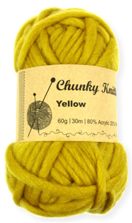 60g Super Soft Acrylic Chunky Knitting Yarn Balls