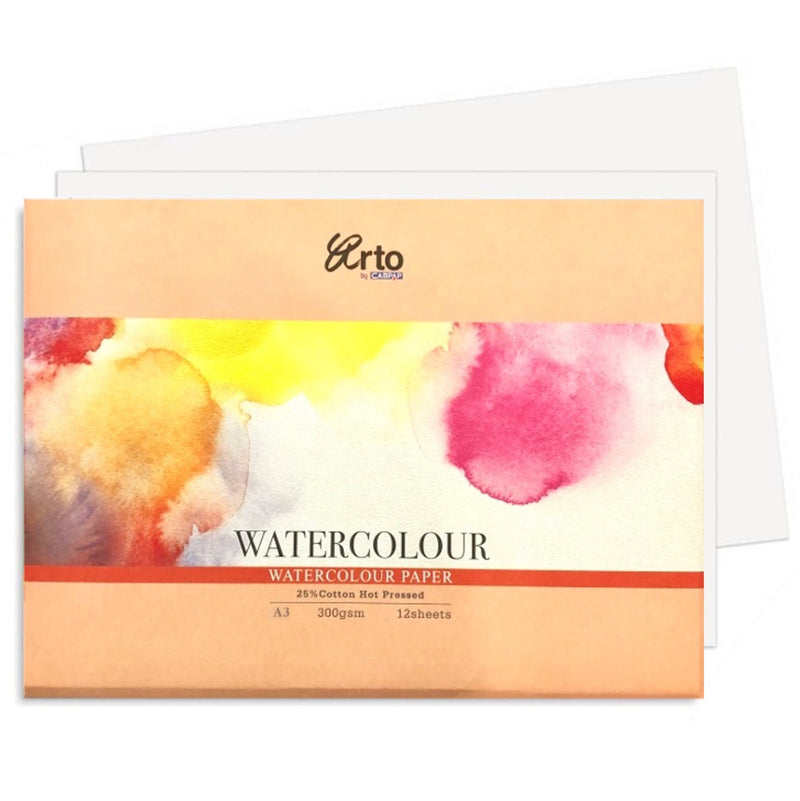 Fabriano 25% Cotton Art Paper - A3 Hot Pressed 300gsm