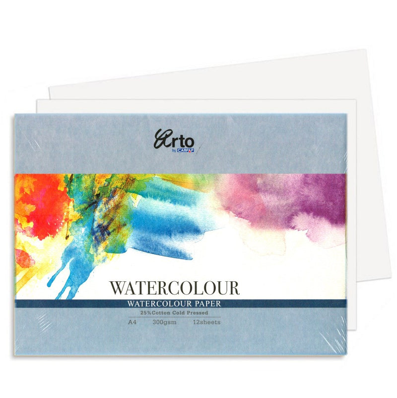 Fabriano Fabriano 25% Cotton Paper A4 Cold Pressed 300gsm