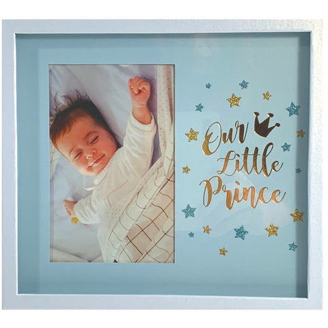 Baby Boy Shadow Box Photo Frame
