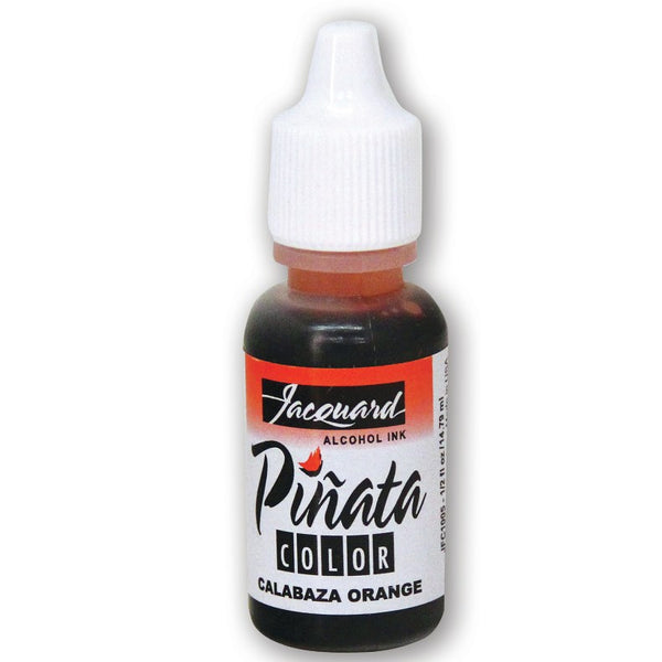 JACQUARD PINATA Alcohol Ink 14ml Bottle - Calabaza Orange