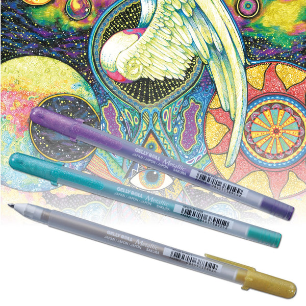 Sakura Gelly Roll Gel Pens Set - Classic Pastel - 6 pens!