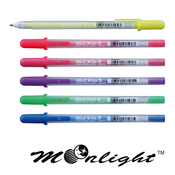 Sakura Gelly Roll Gel Pens Set - Moonlight Evening - 6 pens!