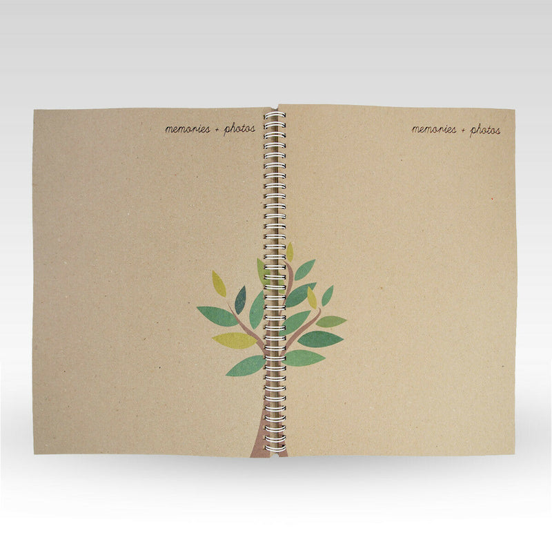 Rhicreative Rhicreative Grandchild - Record Journal Book