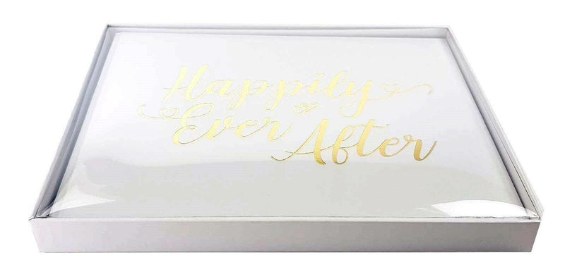 Landmark Wedding Guest Book Keepsake - Happily Ever After