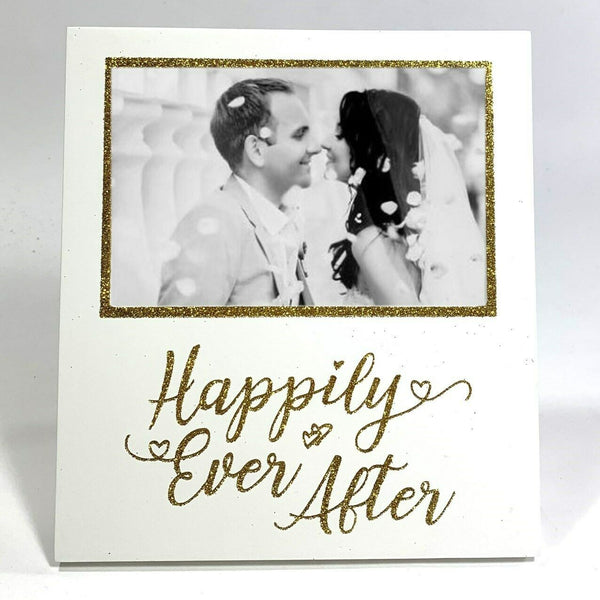 Wedding Photo Frame - HAPPILY EVER AFTER