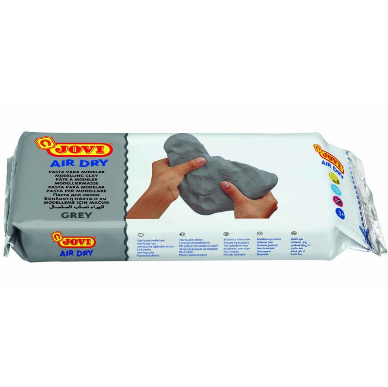 Jovi Air Drying Modelling Clay - Grey 1KG
