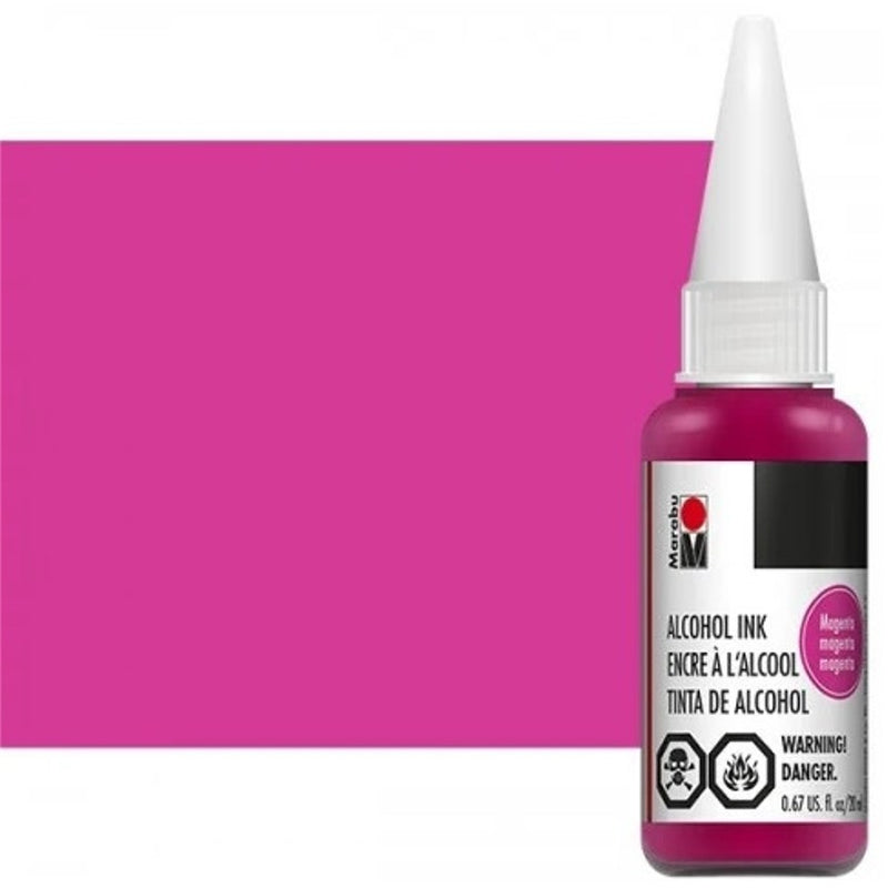 Marabu Alcohol Ink 20ml - Magenta