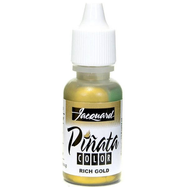 JACQUARD PINATA Alcohol Ink 14ml Bottle - Metallic Gold