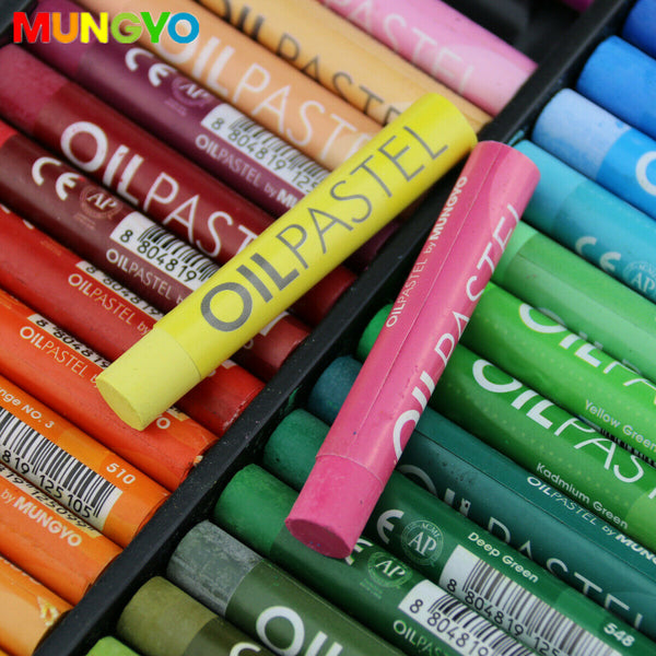 Mungyo Artists Large Soft Oil Pastels Sticks Art Pastel - 48pk