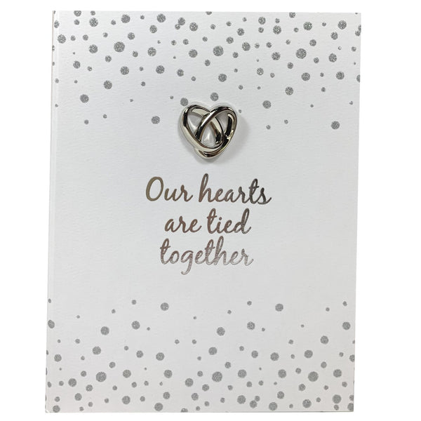 Wedding Planner Organiser - Our Hearts Are Tied Together