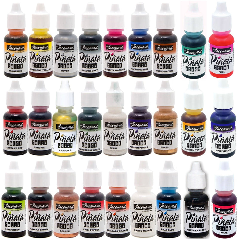 Jacquard Colours Pinata Alcohol Inks Full Set 27 Bottles
