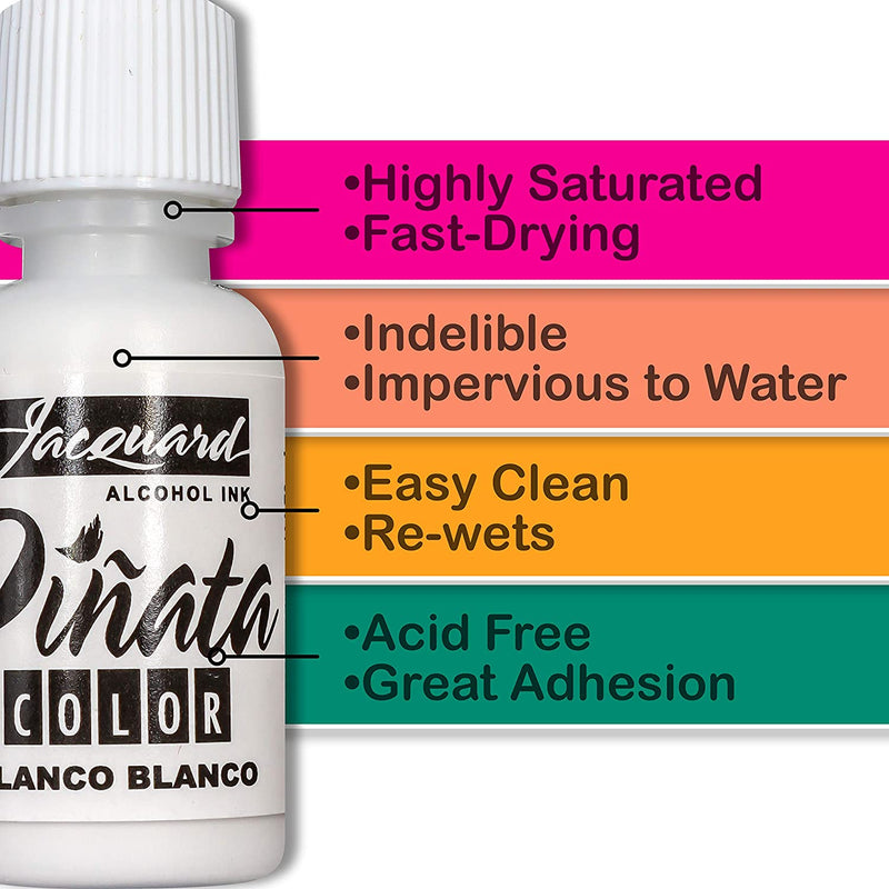 Jacquard Jacquard Pinata Colours Alcohol Inks Exciter Set Overtones